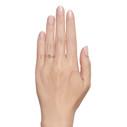 Rough cut gemstone ring by Olivia Ewing Jewelry