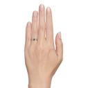 Uncut montana sapphire ring by Olivia Ewing Jewelry