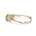 Rough cut montana sapphire by Olivia Ewing Jewelry