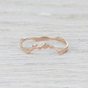 contoured nature inspired ring