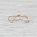 contour wedding ring