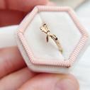 Unusual wedding ring by Olivia Ewing Jewelry