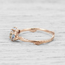 Engagement rings and handmade Montana sapphire engagement rings by Olivia Ewing Jewelry
