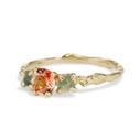 Sunstone Montana sapphire ring by Olivia Ewing Jewelry