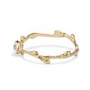 Bezel diamond engagement ring by Olivia Ewing Jewelry