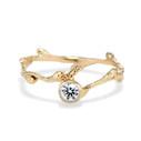 Verona Diamond Bezel Ring by Olivia Ewing Jewelry