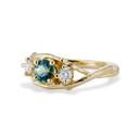 Sapphire diamond ring by Olivia Ewing Jewelry
