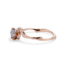 Nature inspired rings and rough cut gemstone rings by Olivia Ewing Jewelry