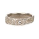 Diamond Vineyard Ring by Olivia Ewing Jewelry