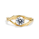 One Carat Unity Diamond Solitaire Ring by Olivia Ewing Jewelry