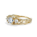Grey diamond engagement ring by Olivia Ewing Jewelry