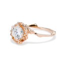 Nature inspired diamond ring for her by Olivia Ewing Jewelry