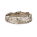 Maple Tree Wedding Ring by Olivia Ewing Jewelry