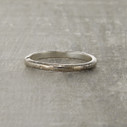 twig wedding band for him