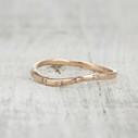 Pave diamond wedding band by Olivia Ewing Jewelry