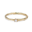 Brooks Diamond Solitaire Ring by Olivia Ewing Jewelry