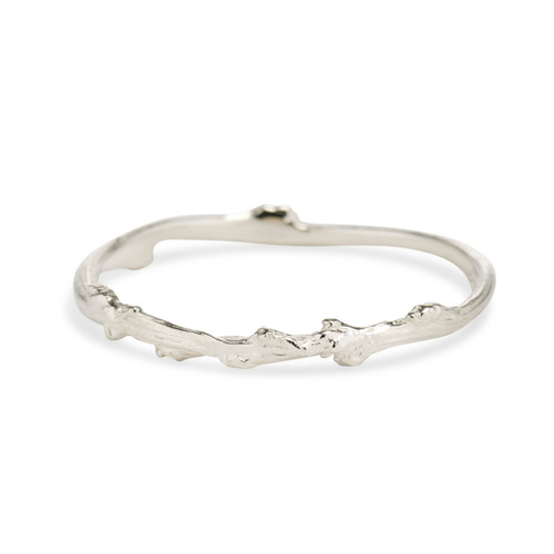 Silver Naples Ring by Olivia Ewing Jewelry