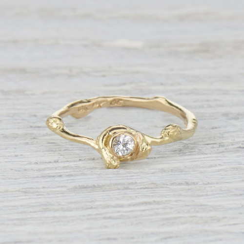 Alna diamond ring by Olivia Ewing Jewelry
