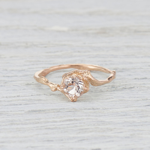 morganite engagement ring for her