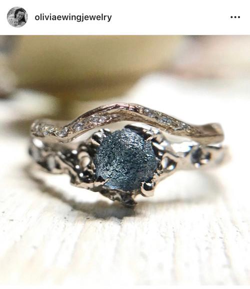 Custom Contour Union Eternity Ring