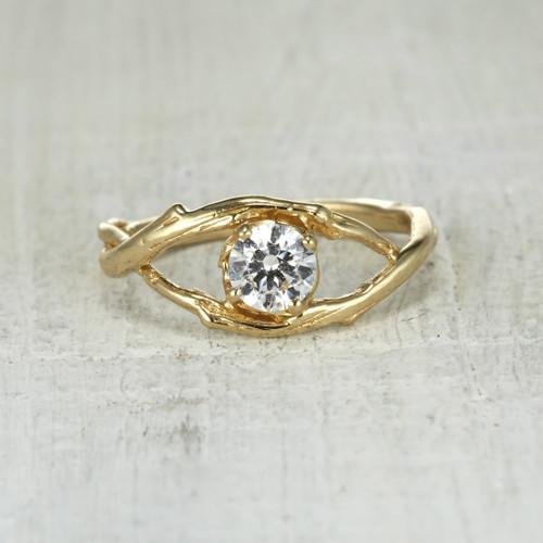 Unique, Handmade Nature Inspired Wedding & Engagement Rings