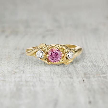 Harmony Three Stone  Ring