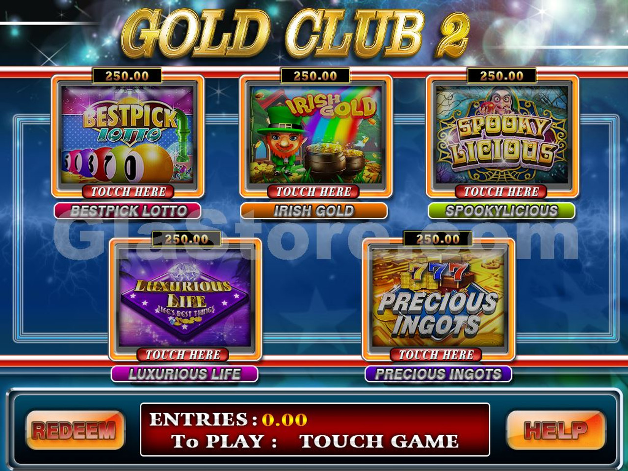 Gold Club by Trestle Multi-Game Board