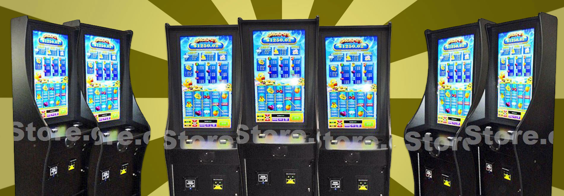 """32"""" Vertical LCD Cabinet"""