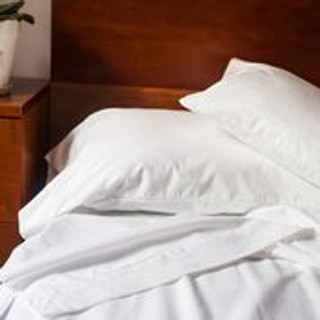 100% Made in the USA Organic Cotton Sheet Sets - White