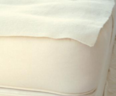 Mattress Pads, Eco Wool Puddle Pads - Made in USA