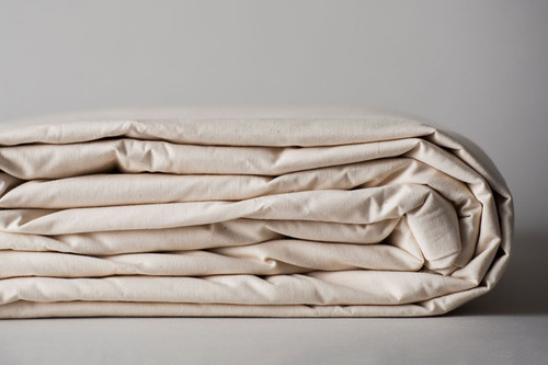 100% Made in the USA Organic Cotton Duvets & Shams - Natural
