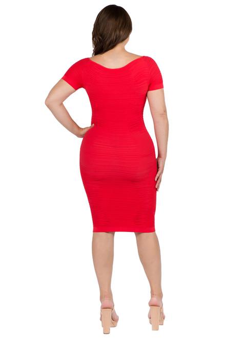 MD01 Short Sleeve Dress