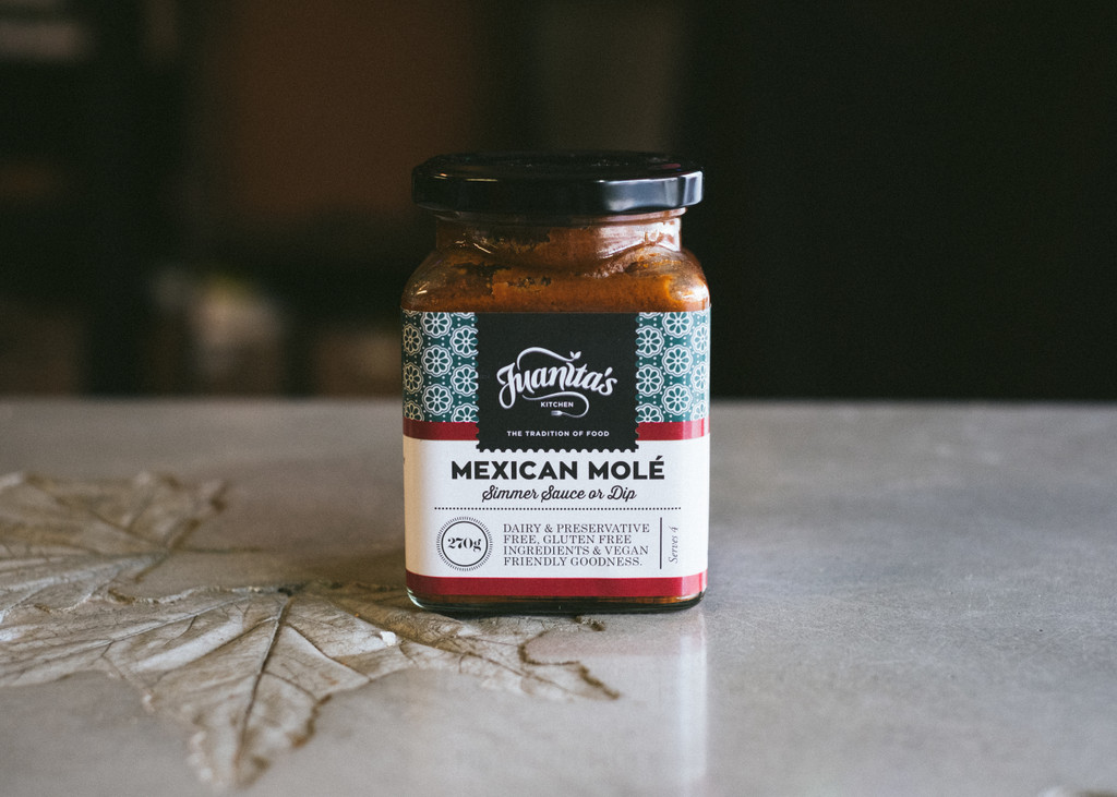 Juanitas Kitchen award winning Mexican Mole