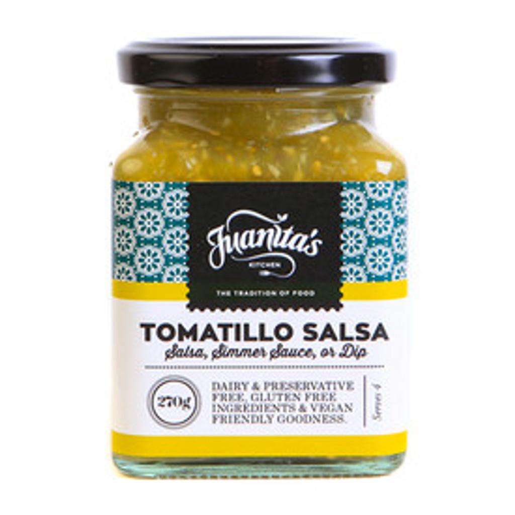 Salsa verde , green salsa
