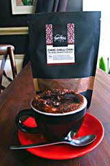 Chocolate chilli chai cup