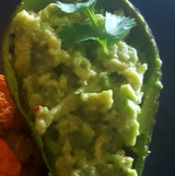 2 Ingredient Quick Avocado Dip