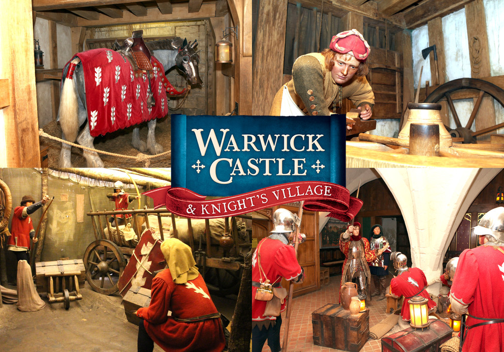 Jump back to 1449 with all the smells of Warwick's army preparing for battle! This set includes authentic aroma oils from Warwick Castle's Kingmaker experience: Stables, Blacksmith, Battle Cart and Soldiers' Leather, all in 25ml bottles.