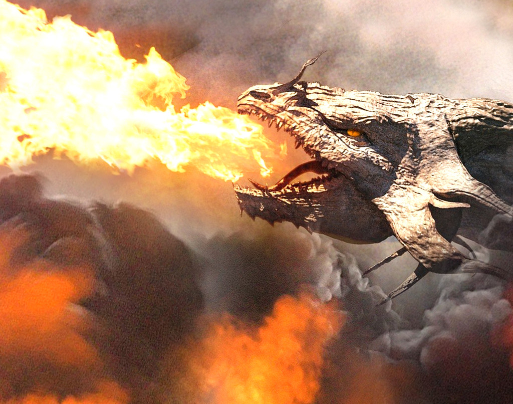 The deep, mystical aroma of Dragon Smoke is what you might sniff after the legendary beast has blown its flames!