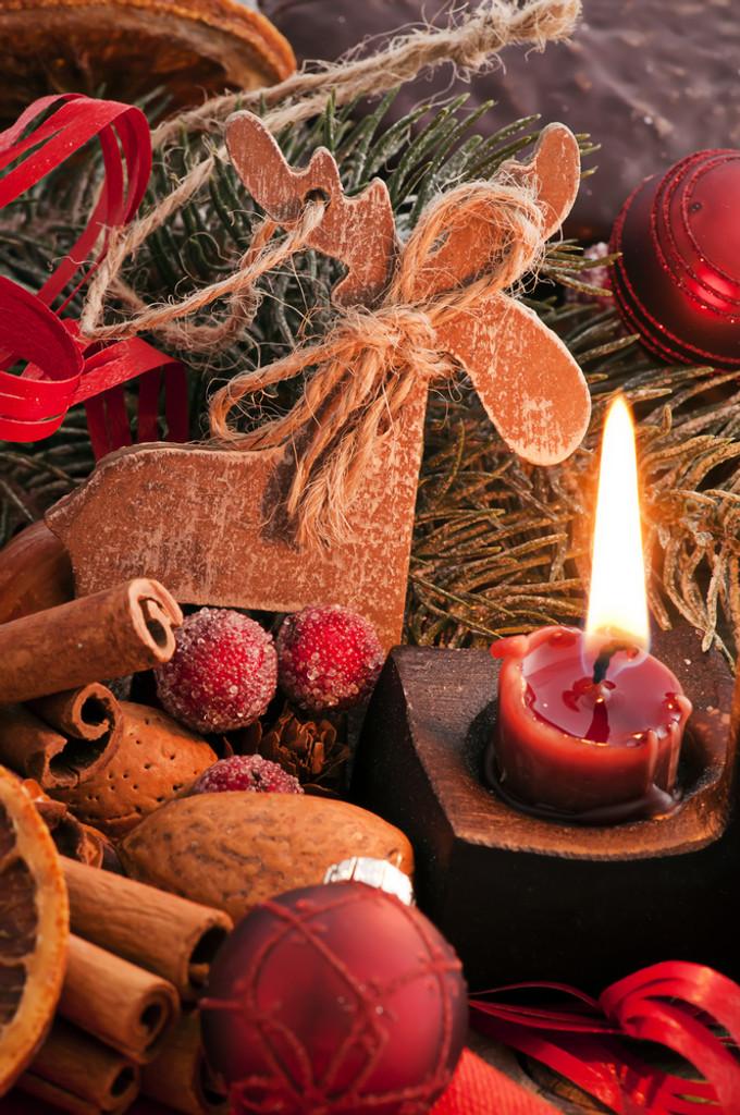 A festive blend of apple, cinnamon and brandy.