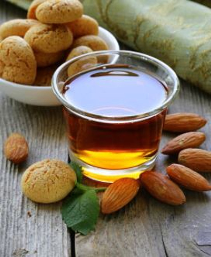 The sweet, enticing scent of that favourite Italian liquer. The spirit itself, made from from almonds and apricots, is a traditional aperatif in the foothils of the Alps and has become a choise selection for its admirers.
