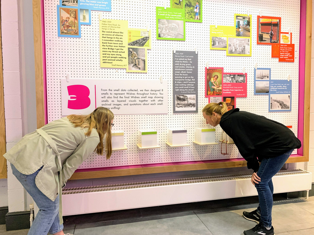 Timeline Of Scents Lets People Sniff Town's History