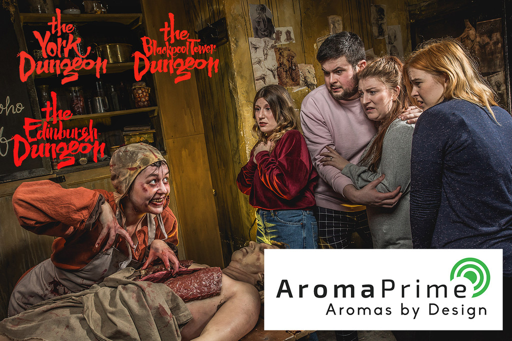 Dungeon Attractions Launch Scent Range with AromaPrime!