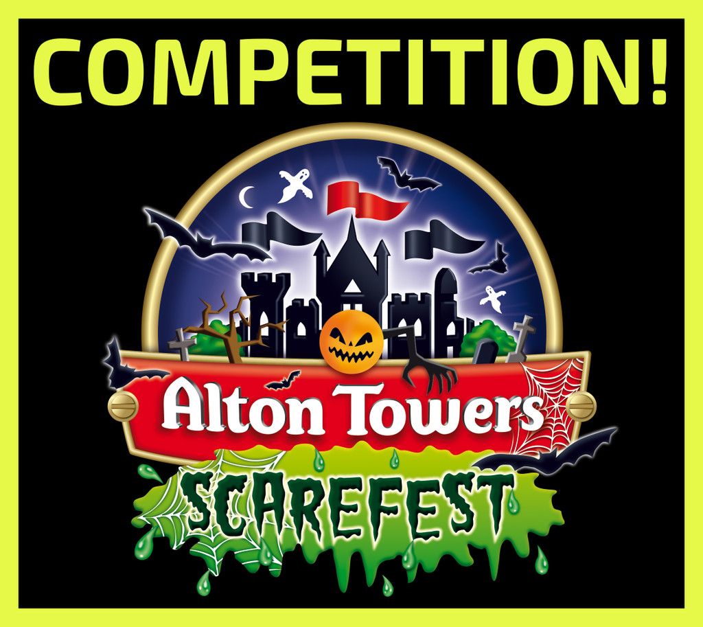 WIN Alton Towers Scarefest Tickets and Invent a Halloween Smell!