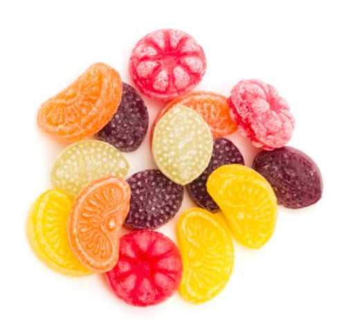 Similar to the pear aroma but with the slight sharpness that these sweets have
