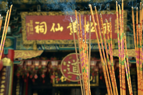 The aroma of continental Incense.