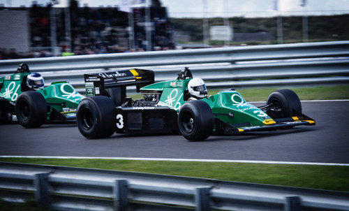 Imagine a formula one pit stop, rubber tyres, oil and petrol.
