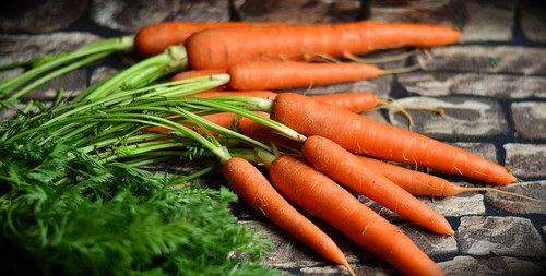 The fresh and slightly sweet scent of carrots ready for the harvest. Reminicent of healty eating and the countryside.
