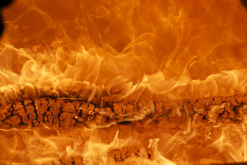 The fiery smell of destruction in ancient times, recreating the fall of the Roman Empire!