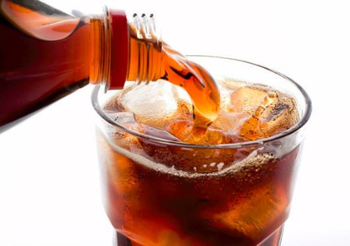 The sweet and unmistakable aroma of cola bottles, sweeties, drinks and cubes.
