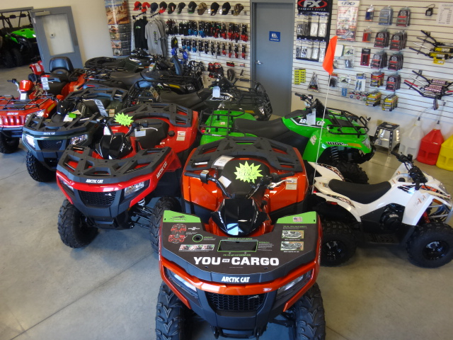 Motorcycle and ATV repair shop